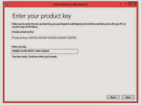 Aktivasi Windows 8 PRO